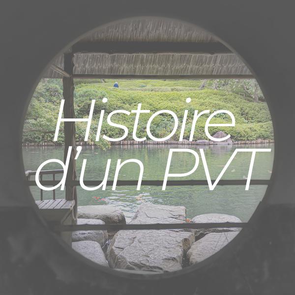 Histoire d'un PVT au Japon