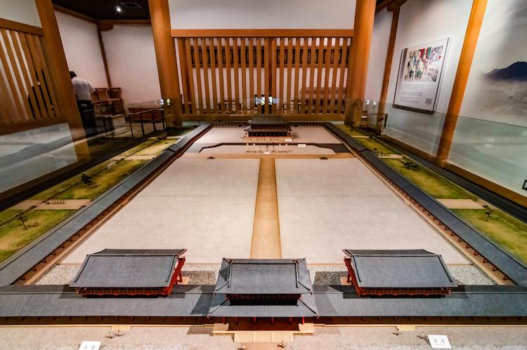 Palais Impérial Nara - Maquette